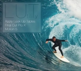 FCPX调色预设插件_Lut Utility For Final Cut Pro X(LUT调色插件)V1.44下载
